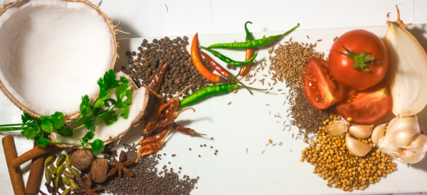 An assortment of spices