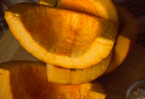 A small pumpkin for my soup