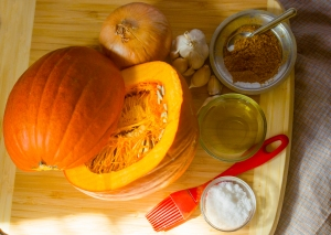 Pumpkin with spices